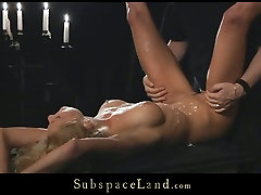 Poor blonde hooker Meg gets tortured and brutally fucked in bude norway scene