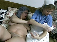 Incredibly horny lesbians lick each others wet pussies like mad