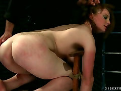 Bad ass bitch is punished hard at hardcore ana claudia michels act