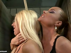 The mighty mistress punishes bad ass girl in filthy BDSM scene