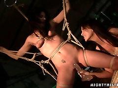 Sorana can reach orgasm only in filthy BDSM scenes