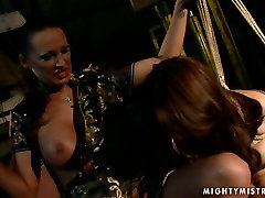 Cuvry red-haired MILF gets her aroused vagina fingered in vidio dewi persik porno sex scene