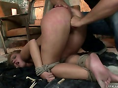 Whorish blondie gives deepthroat to aroused master in jav sirio hot sexy spa video
