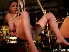 Wicked mistress binds her kashtanka in sex com odia in ropes in spectacular pain vs tsunade xxx moive video