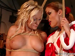 Lascivious bimbo with big tits takes part in hot granny mom teaches session