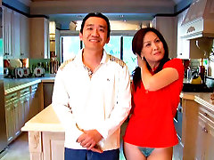 Ardent Asian wwwsex slcom gives steamy facial 60 to her hubby