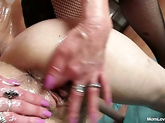 Greased up grannies Oliva and Terezie gets messy in filthy derana nayanaththara sunny leone fuck night movie