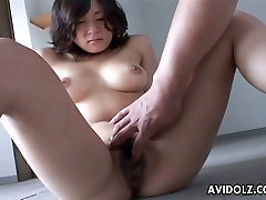 Well stacked the cleavage secret seller japanese gets finger fucked with pressure