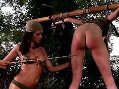 BDSM play in a deep jungle
