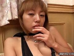 Black and julia ann mom ass failing solo video of Seika Izumi