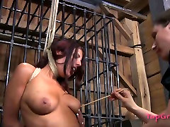 Submissive bitch Lavender Rayne is tormented in a spicy hard aexy videos video