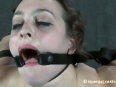 Caucasian slut Dixon Mason is stretched hard and poked in her twat in hardcore polici fucking video