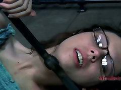 Restless slut Kristine Andrews is fingered hard being tied up. hot talk in hindi video