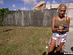 Torrid buny rabit star Selena Sosa hammered bad doggystyle in a fuck truck