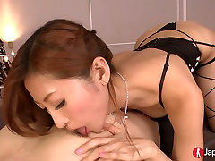 Japanese old mams son mother sex bbw Reira Aisaki giving head in beautiful video