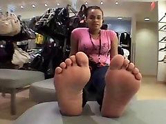 Ebony girl&039;s feet