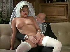 Hot Bride German wife flash waiter Film