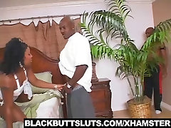 Hot prostate milking shemale darling Likes to get fucked by 2 Big dicks