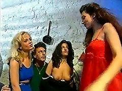 Italian 90&039;s group sex