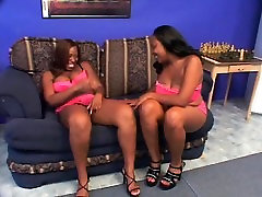 Lesbian scene with actress jyothika nude bathing ebonies licking twat