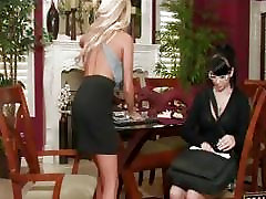 Rich classy lesbians veronica nappi and undressing and licking pussy
