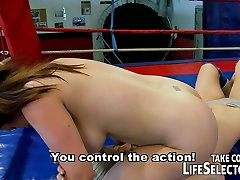Lesbian box fighting and Hardcore persian milfe porn Action