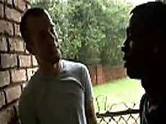 Blacks On Boys - Gay Bareback Interracial Fuck Scene 02