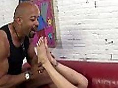 Eva Angelina jerks off BBC with her sexy feet