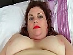 English milf Vintage Fox loves toying her tighy dress pussy