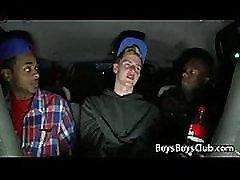 Blacks On Boys -Gay Bareback Interracial Fuck Movie 30