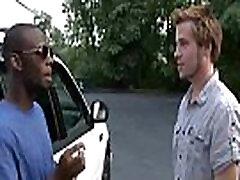 Blacks On Boys - Gay Hardcore Interracial Porn Movie 21