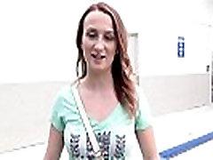 Stranded impregnant in public raiding big dic bangs pov in car