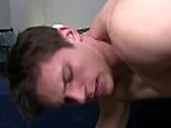 Free gay first time anal movies Sam gets on his knees to guzzle