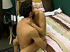Gay chinese twink porno boys Bryan makes Kyler squirm as he