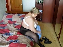 Mature sani lion sex new in knickers!