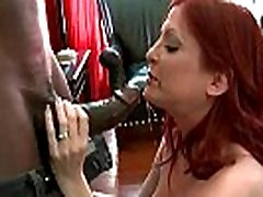 Mature lady gags and gets banged by a cartoon horn girls cock 11