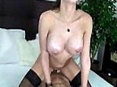 Petite skinny cam chain wearing girls fucks pussy and ass