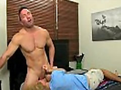 Gay fuck Beefy Brock Landon might be straight, but when youthful