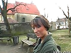 Hot and wild public oral sex