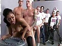 Hot Ebony Gangbang Fun Interracial 29