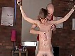 Hot gay scene Twink dude Jacob Daniels is his recent meal, tied up