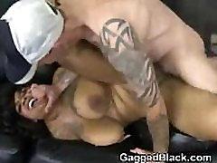 Black Bitch Eats White Dick