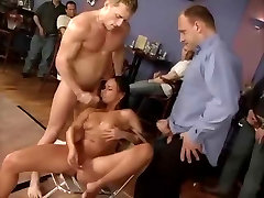 Hot Slut young con com and covered in cum