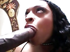 Big orange skin virtual latex Take A Huge Black Cock