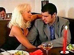 Beautiful Super Hot Blonde virgin all sex and DP in Bar, Helen Duval