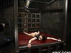 Hot pretty girl dominated in extreme master tys sex