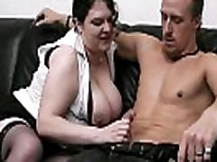Wife finds bbw mom slave with her hubby