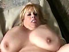 Big Tit BBW MILF Fucks Muscle Stud On Bike