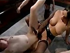 Nasty lesbian torture floppy saggy and girl on girl sex