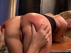 Hardcore alison tyler 32 action with nasty french pan girls named Mandy Bright and Salome